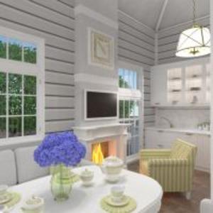 floorplans dom meble łazienka sypialnia pokój dzienny kuchnia 3d
