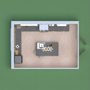 floorplans 厨房 3d