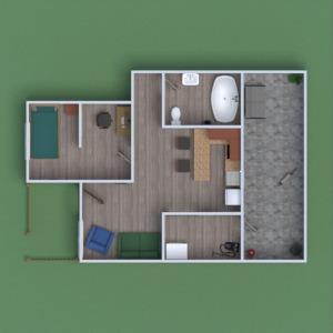 floorplans casa utensílios domésticos 3d