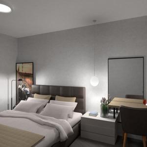 floorplans butas baldai miegamasis svetainė virtuvė 3d