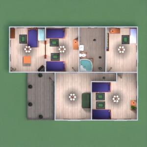 floorplans namas baldai dekoras vonia miegamasis garažas virtuvė eksterjeras kraštovaizdis namų apyvoka valgomasis prieškambaris 3d