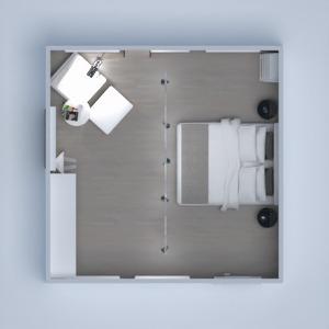 floorplans décoration chambre à coucher salon eclairage 3d
