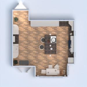планировки мебель декор кухня 3d