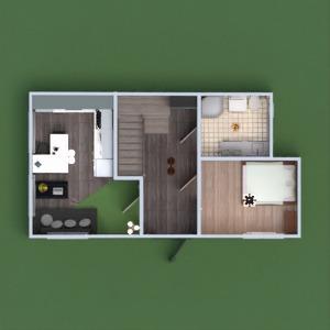 floorplans namas virtuvė valgomasis studija 3d