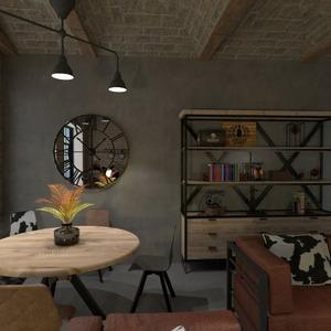 floorplans mobiliar dekor wohnzimmer esszimmer lagerraum, abstellraum 3d