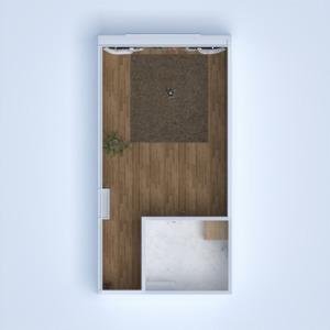 planos apartamento cuarto de baño dormitorio cocina estudio 3d