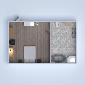планировки ванная спальня 3d
