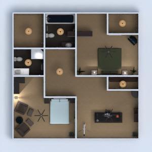 floorplans haus mobiliar dekor schlafzimmer wohnzimmer küche esszimmer architektur eingang 3d