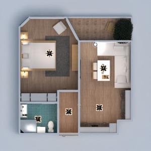 floorplans mieszkanie zrób to sam łazienka sypialnia pokój dzienny kuchnia jadalnia 3d