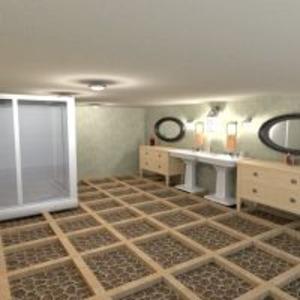 floorplans appartement maison meubles décoration salle de bains 3d