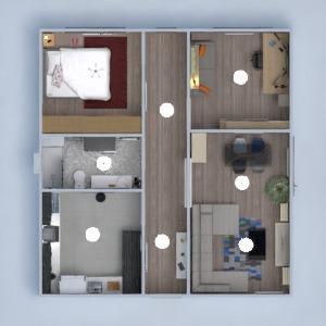 floorplans wohnung dekor badezimmer schlafzimmer esszimmer 3d