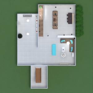floorplans maison meubles salle de bains chambre à coucher salon cuisine eclairage maison salle à manger architecture espace de rangement entrée 3d