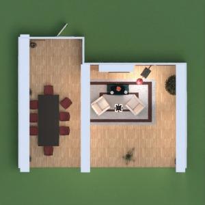 planos apartamento casa decoración bricolaje salón 3d