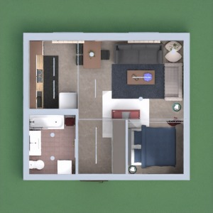 progetti appartamento casa decorazioni 3d