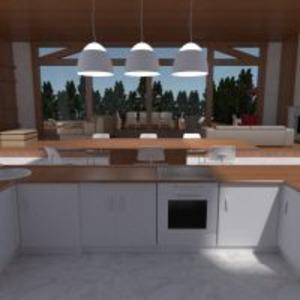floorplans casa varanda inferior mobílias decoração faça você mesmo banheiro quarto quarto cozinha área externa escritório iluminação reforma paisagismo utensílios domésticos sala de jantar arquitetura despensa patamar 3d