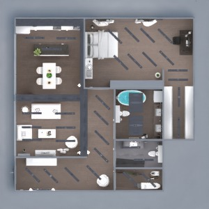 floorplans mieszkanie meble wystrój wnętrz zrób to sam łazienka sypialnia pokój dzienny kuchnia oświetlenie remont przechowywanie mieszkanie typu studio wejście 3d