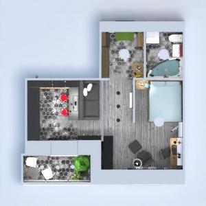 floorplans appartement meubles décoration rénovation studio 3d
