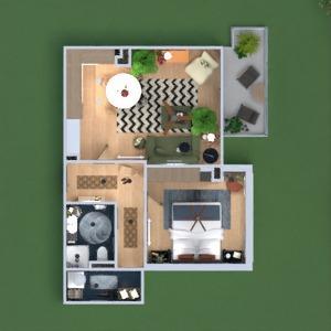 progetti appartamento decorazioni camera da letto saggiorno ripostiglio 3d