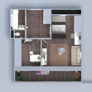floorplans butas baldai dekoras pasidaryk pats vonia miegamasis svetainė virtuvė apšvietimas renovacija sandėliukas prieškambaris 3d