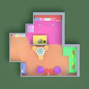 planos casa muebles salón cocina 3d