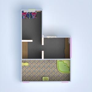 floorplans salle de bains chambre à coucher chambre d'enfant 3d