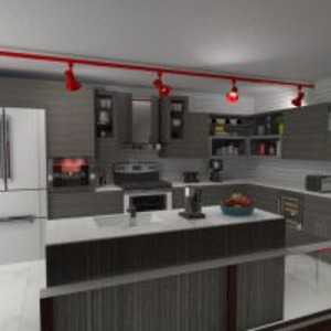 floorplans appartement terrasse meubles salon cuisine eclairage salle à manger studio 3d