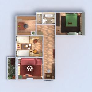 floorplans butas baldai dekoras pasidaryk pats vonia miegamasis svetainė virtuvė vaikų kambarys apšvietimas renovacija sandėliukas prieškambaris 3d