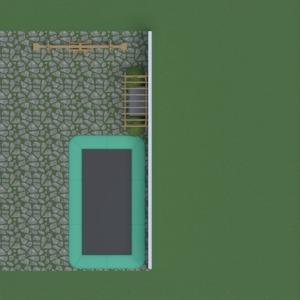 floorplans área externa paisagismo 3d