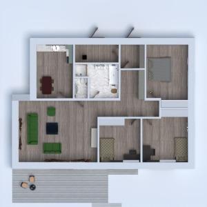 floorplans namas terasa baldai 3d
