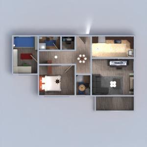 floorplans apartment terrace furniture decor bathroom bedroom living room kitchen kids room office lighting household dining room 3d