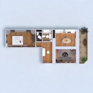 планировки квартира мебель ванная спальня кухня освещение архитектура прихожая 3d