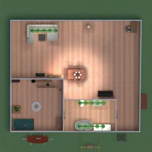 floorplans namas vonia miegamasis svetainė namų apyvoka 3d