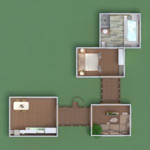 floorplans apartment house terrace furniture decor 3d
