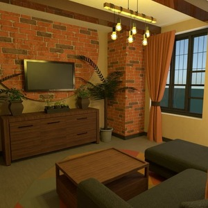 floorplans 家具 装饰 客厅 照明 结构 3d