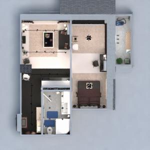 floorplans butas baldai dekoras pasidaryk pats vonia miegamasis svetainė virtuvė apšvietimas renovacija namų apyvoka valgomasis sandėliukas studija prieškambaris 3d