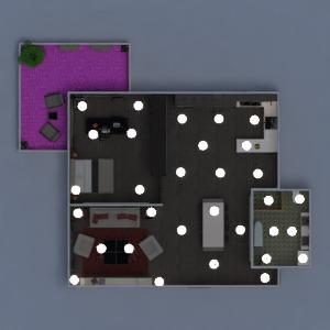 planos apartamento muebles decoración cuarto de baño dormitorio salón cocina 3d
