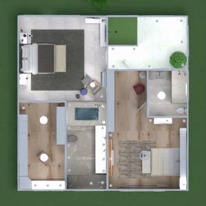 floorplans maison terrasse meubles décoration salle de bains chambre à coucher salon garage cuisine extérieur eclairage paysage maison café salle à manger architecture espace de rangement entrée 3d