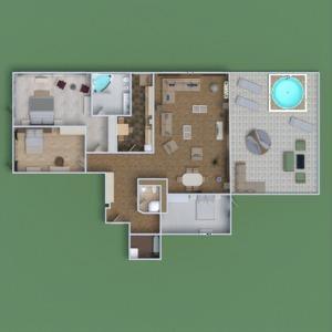 floorplans maison terrasse meubles décoration salle de bains chambre à coucher salon cuisine chambre d'enfant bureau eclairage rénovation salle à manger architecture 3d