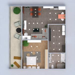 planos apartamento terraza muebles decoración bricolaje cuarto de baño dormitorio salón cocina iluminación reforma hogar comedor arquitectura trastero estudio descansillo 3d