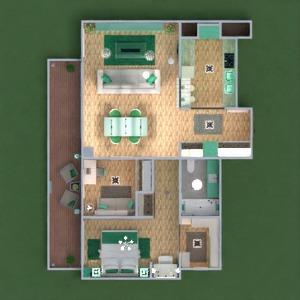 floorplans wohnung terrasse mobiliar dekor do-it-yourself badezimmer schlafzimmer wohnzimmer küche outdoor büro beleuchtung landschaft haushalt esszimmer architektur 3d
