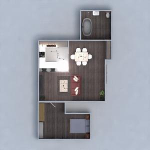 floorplans apartment house furniture decor 3d
