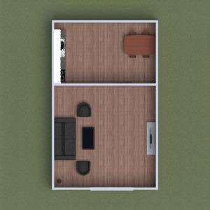 floorplans meubles salle de bains chambre à coucher salon extérieur 3d