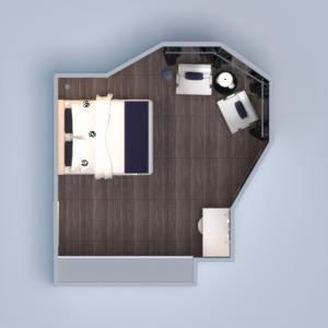 floorplans meubles décoration diy chambre à coucher eclairage espace de rangement 3d