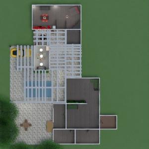 progetti casa cucina paesaggio architettura 3d