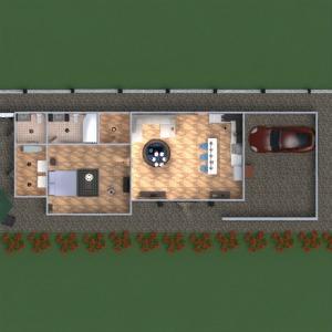planos casa muebles cuarto de baño dormitorio salón cocina exterior arquitectura 3d