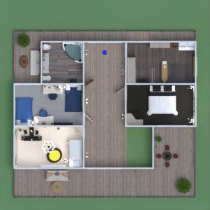 floorplans decor bedroom living room kitchen lighting 3d