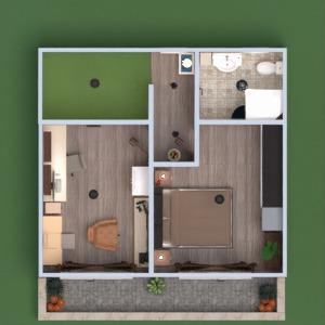 floorplans house terrace furniture decor bathroom bedroom garage kitchen office entryway 3d