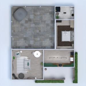 floorplans namas vonia miegamasis svetainė virtuvė 3d