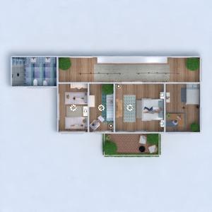 floorplans casa mobílias quarto quarto cozinha arquitetura 3d