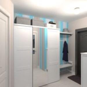планировки квартира дом мебель декор прихожая 3d